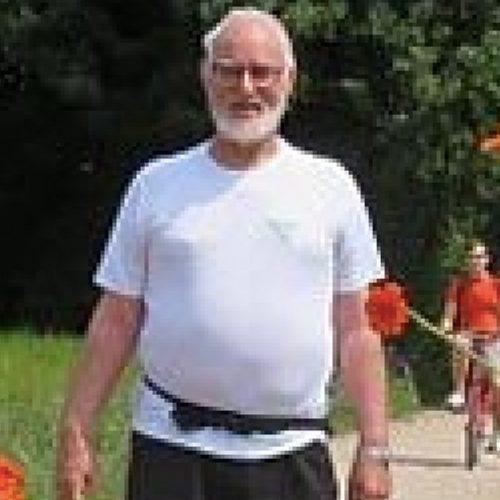 Piet Jansens: Wandeltocht van 5 km met nieuwe knie na 4 weken.